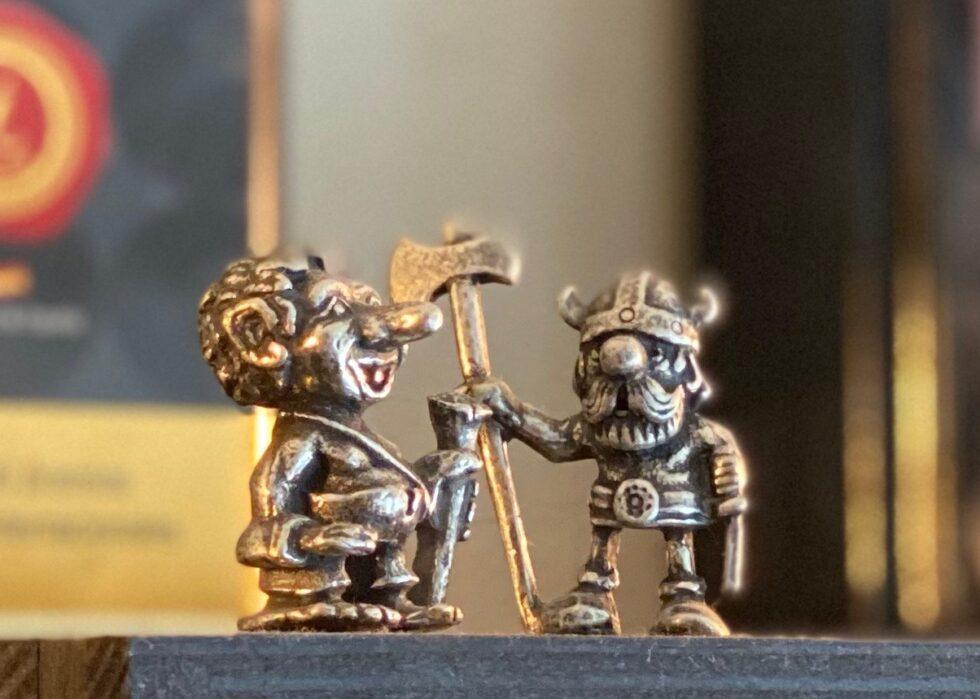 Troll and Viking